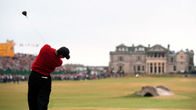 The Old Course at St. Andrews, St. Andrews, Fife, Scotland                           Tournaments Won: The Open Championship (2000, 2005)                           Total Winnings at Course: $2,020,435