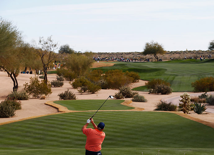 Stadler finished 3-under for the day and 16-under for the tournament at TPC Scottsdale, his home course.