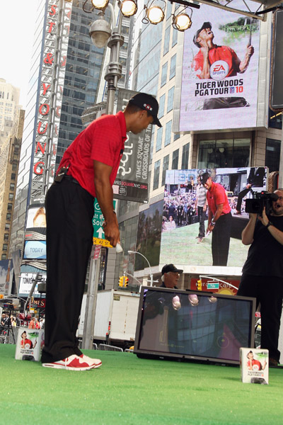 Electronic Arts                           EA has produced Tiger Woods video games since 1998.