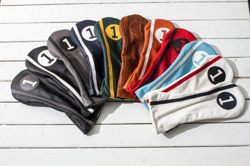 Stitch Racer Collection headcovers, $45-$55; stitchgolf.com                       These retro-cool headcovers, designed with a slimmer fit to complement the current trend toward smaller golf bags, can be purchased individually or in sets.