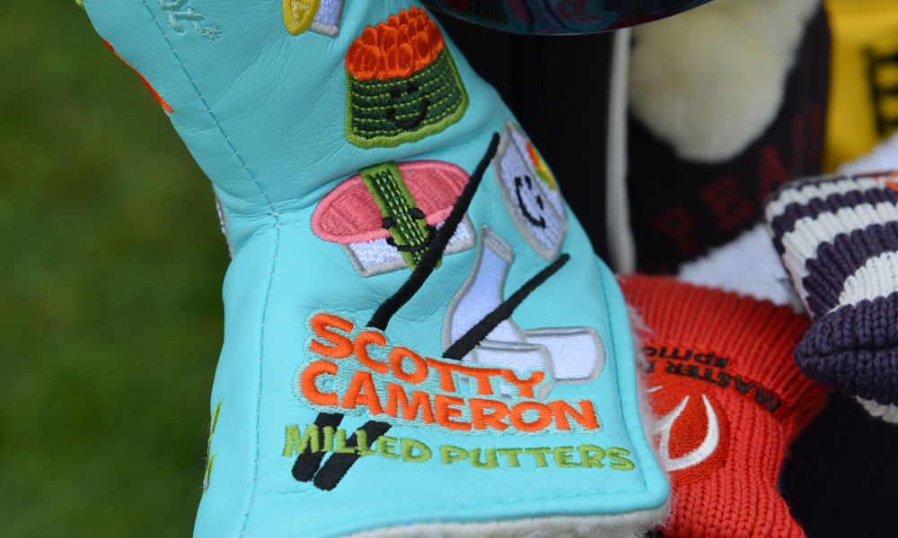San Francisco is a great place for sushi, even on a Scotty Cameron putter headcover.