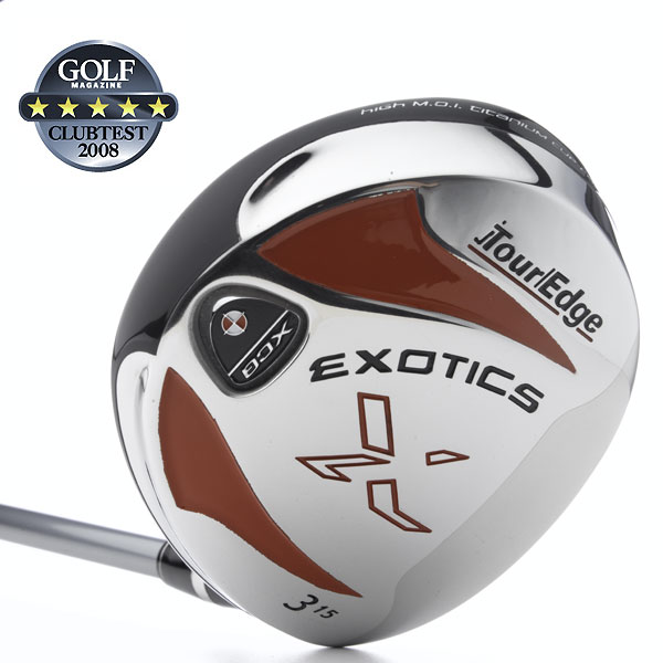 "Tour Edge Exotics XCG                            $349, graphite                            touredgegolf.com                                                      We tested: 3+ (13°), 3 (15°) and 5 (18°) in Aldila DVS 75, Graphite Design   X-Quad, UST Proforce V2 graphite shaft. Shaft length (3-wood): 43"", graphite                                                      Company line: ""XCG boasts the longest distance and greatest forgiveness of any Exotics fairway wood. Its lower face height, deeper front-to-back dimension and 50-percent larger titanium cup face allows for a heavy sole, our highest MOI and lowest CG.""                                                       Voted Best for Distance                                                      Our Test Panel Says:                            PROS: Longest woods tested by five yards; great off a short tee; they score very high for accuracy; shots fly on a low, piercing trajectory; easily workable either left or right; plenty of forgiveness to handle your worst swings; slightly oversize, unassuming heads; deliver the goods                            from any lie; balls jump off the lively clubface.                                                       CONS: Launches shots lower than others and may                            not be the easiest for high handicappers to get off                            the ground; feel can be a little flat on mis-hits; low ball                            flight out of the rough.                                                       ""These are straight-hitting machines."" — Stacey Fitts (19)"