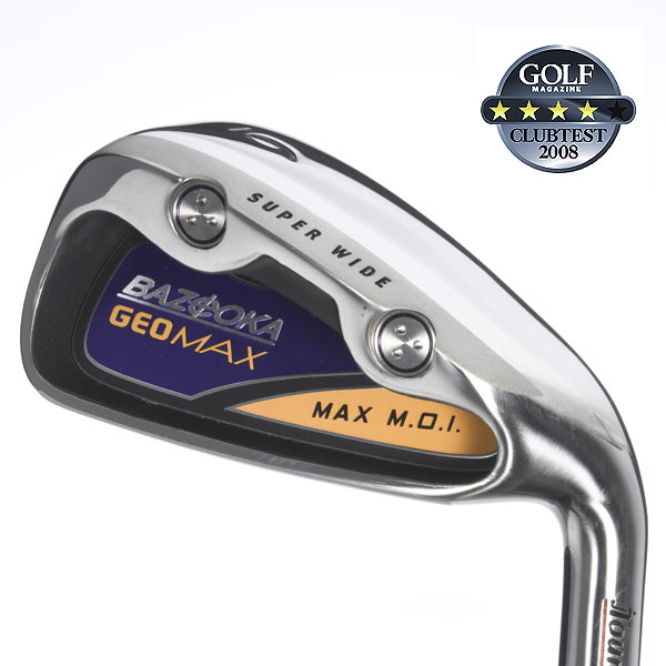 "Tour Edge GeoMax                        $399, steel; $449, graphite                                                                      We tested: 3-PW in GeoMax Precision Microtaper steel shaft. Shaft length/loft (6-iron): 37.75""/29°                                               Company line: ""Fifteen-gram tungsten screw weights, in the heel and toe, increase MOI and turn the entire face into one large sweet spot. The deep undercut cavity has a thermal plastic elastomer coating for soft, more responsive feel.""                                               Our Test Panel Says:                        PROS: Very forgiving, seems to actively fight to keep shots online; its thick topline, super-wide sole and big offset are comforting to the higher handicapper; easy to find the heavy head during the swing; you'll like these if you like straight; smooth, easy to hit and easy on the hands; delivers a high, easy ball flight; one of the longer clubs in the test; little distance penalty on misses.                                               CONS: Lacks acute feel— don't expect surgical touch around the green; not the prettiest one at the dance; pretty much dictates what it's going to do rather than vice versa.                                               ""Its ever-forgiving face and large sole let you get by without going hybrid."" — Andy Simon (23)"