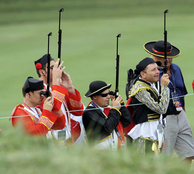 The Red Coats barely saw the Yanks coming in 2008, where the Americans rolled the Europeans.