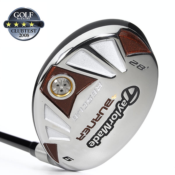 """TaylorMade Burner Rescue                        $159, steel; $179, graphite                         taylormadegolf.com                                              We tested: 3 (19°), 4 (22°), 5 (25°) and 6 (28°) in REAX SuperFast graphite shaft. Shaft length (3-hybrid): 40"""", graphiteTaylorMade Burner Rescue                        $159, steel; $179, graphite                                               We tested: 3 (19°), 4 (22°), 5 (25°) and 6 (28°) in REAX SuperFast graphite shaft. Shaft length (3-hybrid): 40"""", graphite                                              Company line: """"This steel clubhead is 7 percent larger than Rescue Dual in volume and has a 13 percent larger footprint that promotes high MOI for greater forgiveness. The steel 'pull-face' construction provides high COR for faster ball speed and more distance.""""                                               Our Test Panel Says:                        PROS: Top dog in terms of hitting the fairway off a short tee; alignment """"T"""" frames the ball at address; stable club delivers extremely straight ball flight and great forgiveness; can work gentle fades and draws; gets up and out of tricky lies; competitive length; high flight leads to soft landings; a one-piece feel between head and shaft; a gamer in the rough.                                               CONS: More difficult to bend on command than some other hybrids; can be challenging to keep shots low; misses sacrifice more-than-expected distance.                                               """"Par 3s are no longer hit and hope; it's hit and watch."""" — Kirk Fischer (9)"""