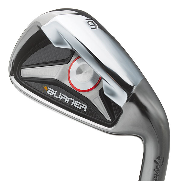 "$699, steel; $899, graphite                       taylormadegolf.com                                              It's for: All skill levels                                              Bret Wahl, Senior Director                       of R&D/Irons:                       ""Burner is                       created in a totally different                       manner than other irons. We                       look at each club individually                       and identify the functional needs and                       aesthetic preferences as dictated by                       golfers' needs and expectations.                       We use a thin, 1.9 mm face                       and incorporate 'SuperFast'                       technology to achieve                       our highest COR in an                       iron, and to ensure that                       your irons produce the                       trajectory and distance                       expected in an easyto-                       play package.""                                              How it works: The year's                       most intriguing iron set exhibits                       out-of-the-box thinking. The design                       team first built the 4-iron (the process                       typically starts with a 6-iron). In                       fact, long, mid and short irons are                       engineered within their own pods to                       achieve proper distance gapping. A                       large, thin ""unsupported"" face and deep                       undercut cavity contribute to increased                       COR (for more ball speed and distance).                       The .810 COR (legal limit is .830) marks                       the first time that a mass-market iron                       has exceeded .800. The larger, heavier                       head (high MOI) boosts forgiveness,                       and the longer, lighter shaft helps                       you swing faster and hit it longer.                                              Compare and Buy These Irons"