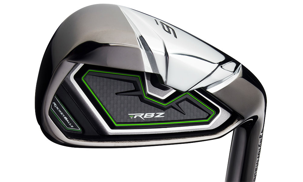 """TaylorMade RocketBallz Irons ($699, steel; $899, graphite)                           Read the complete review"""""""