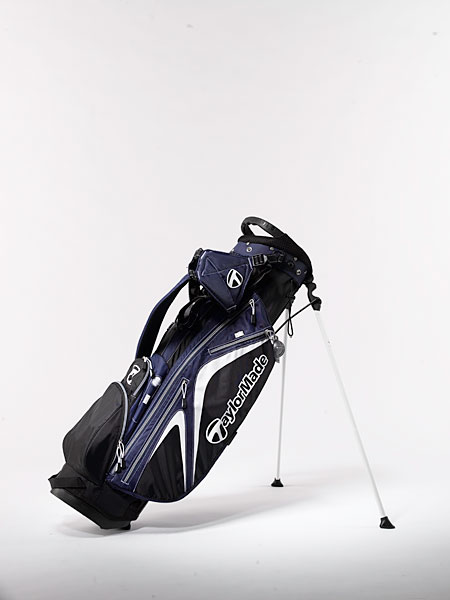 "TaylorMade Micro-Lite 2.0 ($140): Ergonomic, ventilated shoulder straps redistribute the bag's weight to make the load feel lighter, and an integrated top handle makes it easy to set the bag down on the ground. ""Fast Action Snap"" technology allows common accessories such as your range finder to attach securely and conveniently to the bag."