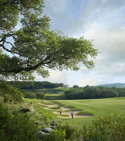 La Cantera Golf Club (Resort), Austin: Tom Weiskopf and Jay Morrish crafted a fun, playable spread with sprawling bunkers that proved overly friendly for the Tour pros who played in the Texas Open here from 1995-2009. It proved unforgettable for resort guests as well, thanks to front-nine holes that are backdropped by the roller-coaster at the Six Flags amusement park next door. (210-558-4653, lacanteragolfclub.com)