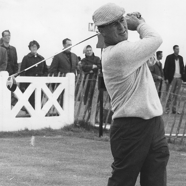 1954 (Carnoustie)                           1955 (St. Andrews)                           1956 (Royal Liverpool)                           1958 (Royal Lytham)                           1965 (Royal Birkdale)