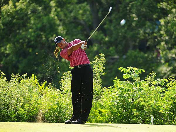 For the first time since the final round of the 2003 Arnold Palmer Invitational, Woods hit every fairway on Sunday. He's accomplished that feat just six times in his career. The other four: first round of 1998 Masters; third round of 1998 Buick Invitational; final round of 1997 Players; second round of 1997 FBR Open.