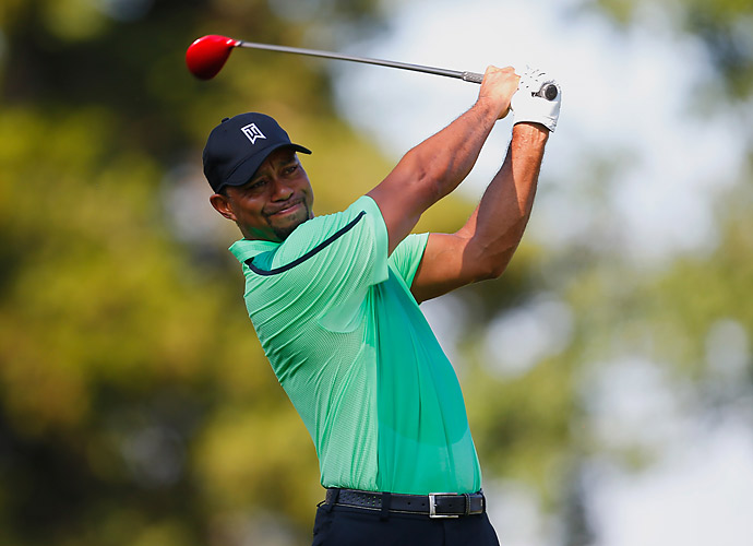 In his press conference, Woods warned that he would be rusty, and that he would not be playing this week if the event didn't support his foundation.