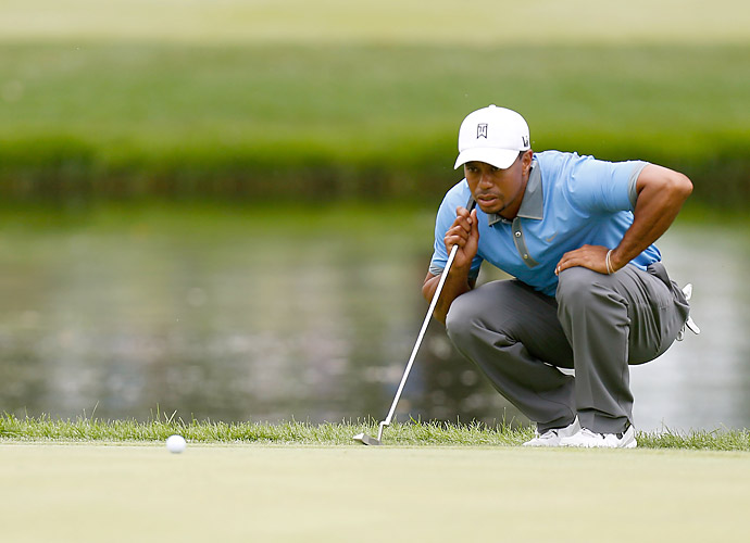 He finished with five straight pars for a 61.