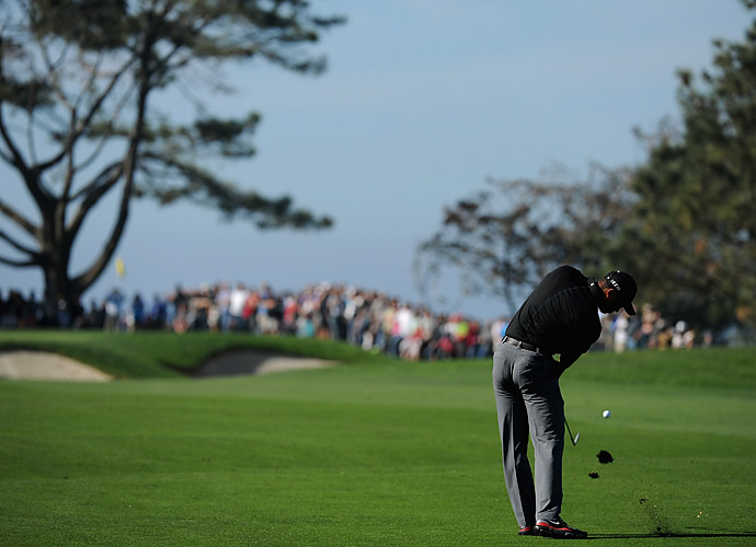 With his 79, Woods missed the 54-hole cut and will not compete on Sunday.