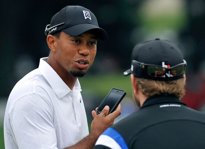 What was Tiger looking at? Given the amount of outbursts, politically incorrect statements and general complaining from his peers in the golf word, there's a good chance he was checking Twitter. We've recapped the best moments the social networking site has produced in the golf world over the years. Enjoy.