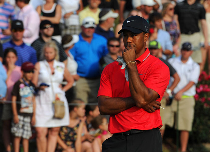 Tiger Woods, 2009-present                        To be fair, Woods had plenty of critics before he crashed his Cadillac SUV into a tree and a fire hydrant in the early morning hours the day after Thanksgiving. But the ensuing avalanche of news, that Woods was cheating on his wife, Elin, and the parade of publicity-loving mistresses pretty much sealed his fate as golf's villain of the moment. His image has recovered since then and his play, at times, has approached the heights it reached pre-scandal. But a string of injuries, back surgery, and a split with swing coach Sean Foley leave Tiger's golfing future in flux.
