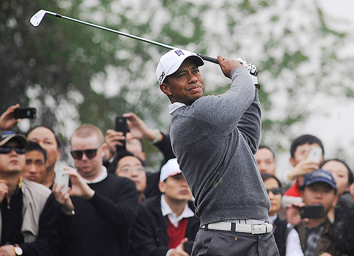 "Tiger Woods is coming off a season in which he won five times and was voted PGA Tour Player of the Year for the 11th time in his career. ""I've played in China since 2001 and the event last year showed me there's still huge enthusiasm for growing the game in cities all across the country, especially as it's again an Olympic sport in 2016,"" Woods said of his 2013 rematch with Rory McIlroy."