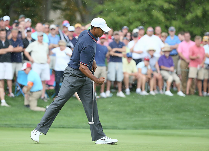 Woods has won five tournaments at Muirfield.