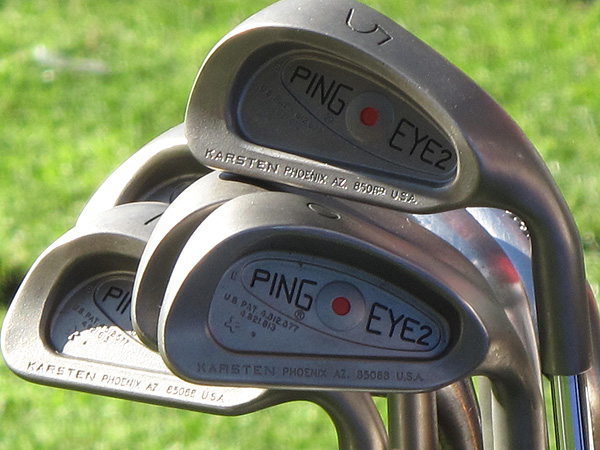 Tim Herron ignores new designs and technology when it comes to irons, opting to stick with his trusty Ping Eye2s.