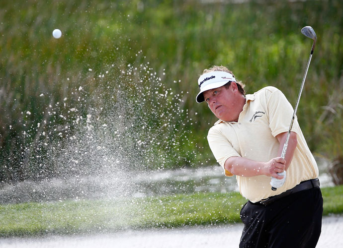 Four-time Tour victor Tim Herron plays to a +4.8 at Whisper Rock Golf Club.