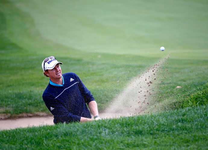 Tim Petrovic followed up his first-round 64 with a 66, good for a share of the lead with Jim Furyk.