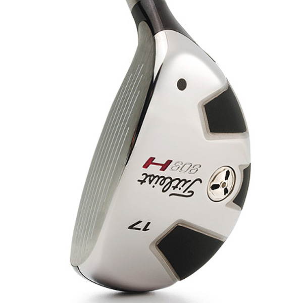"$179, graphite                           titleistgolf.com                                                      It's for: Primarily 0- to 9-handicappers but playable to 15                                                      Dan Stone, VP of R&D:                            ""Our target audience wants performance                           with control from their hybrid. The 909H provides precise launch                           and spin from loft to loft. Lower lofts provide a fairway wood-like                           launch with better trajectory control, while higher lofts provide a                           higher launch versus an iron without excess spin.""                                                      How it works: This line (15°, 17°, 19°, 21° and 24°) progresses nicely                           in size, shape, amount of offset and CG location. As Stone suggests,                           the idea is to match performance in terms of ball flight, workability and                           trajectory control. Each 909H has a longish face (in Carpenter steel, to                           increase ball speed) and a fairly large head (for added confidence).                           The 909H comes with Aldila Voodoo or Titleist Diamana Blue 80 shaft.                                                      Buy and Compare This Hybrid"