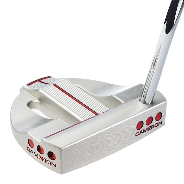"$299                       titleist.com                         Scotty Cameron, Master Putter Craftsman: ""Different golfers require putters of different length, weight, body and neck configurations. Studio Select putters deliver a range of specs and options to accommodate golfers' requirements. All Cameron putters are made from the finest materials to the most precise specs as demanded by the Tour.""                                               How it works: The precision milled head is made from soft aluminum for a sweet, solid sound and feel. Visually, the Kombi has a high toe, to limit the likelihood that you'll raise the toe at address and aim left of target. Three steel weight screws (in heel, toe and rear) increase head stability. Kombi's length and weight combos include: 35"" length (10 grams in heel, 10 grams in toe, 20 grams in rear); 34"" (15g heel, 15g toe, 20g rear); 33"" (20g heel, 20g toe, 20g rear); 35"" Heavy (15g heel, 15g toe, 20g rear); 34"" Heavy (20g heel, 20g toe, 20g rear).                                               Buy and Compare This Putter"
