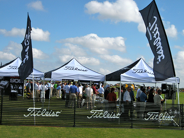 Fortune Brands dropping golf                           Fortune Brands, the parent company of Acushnet, announced in early December that it planned to either sell or spin-off the golf company in 2011.