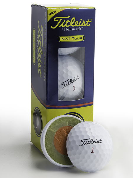 "$30/dozen; golf.com/titleist                                                      It's for: All skill levels who want added                           distance with short-game control                                                      Technology: A ""faster"" dual core and                           improved aerodynamics (new dimple                           pattern) should trigger incremental                           distance gains. Soft Fusablend cover is                           more durable than in the previous NXT                           Tour. Its ""alignment integrated marking""                           (A.I.M.) sidestamp can be used to line                           up the ball prior to stroking your putt.                                                      Ball-fitting options: ""First tee""                           experience at 1,000 courses (includes                           two-ball sample packs). ""Tech vans""                           stage 500 fitting events using TrackMan                           launch monitors. At retail, interactive touchscreen                           displays and selection booklets.                                                      What else is new: The NXT ball                           promises longer distance (and                           straighter flight) than the NXT Extreme."