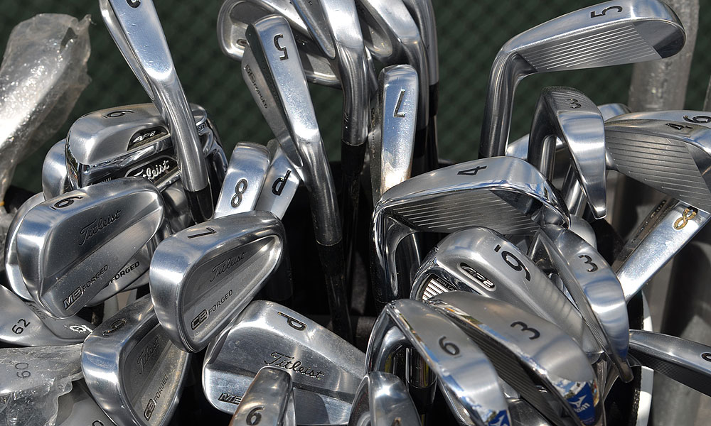 Anyone need a Titleist iron?