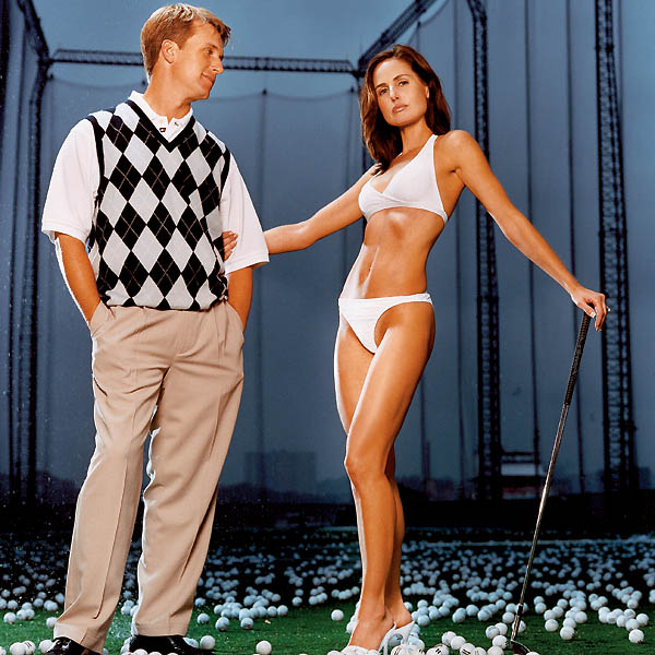 The most beautiful thing on the PGA Tour isn't Phil's new swing--have you seen his wife Amy? Check out these 11 beauties and cast your ballot for the sexiest wife or girlfriend on the Tour.                                              Sonya Toms, with husband David Toms.