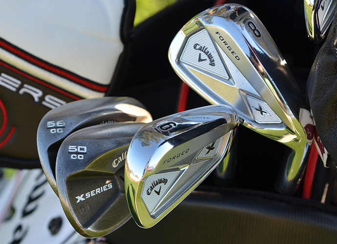 Trevor Immelman is using the new Callaway X Forged irons and X Series JAWS wedges.