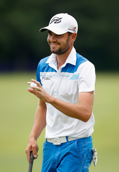 Troy Merrit shot a a 1-under 71 to finish second, a stroke behind Crane.