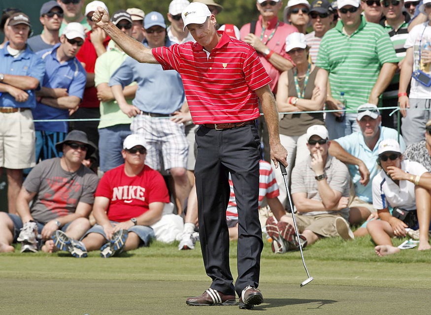 Jim Furyk was the star of the U.S. team, finishing 5-0 for the week.