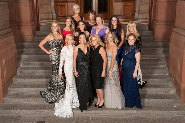 USA Ryder Cup wives and partners during the Gala for the 40th Ryder Cup at the SSE Hydro.