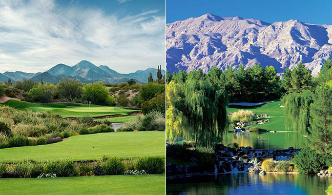 "With the PGA Tour headed back to Las Vegas this week, we celebrate the nation's best courses tied to gaming facilities. While experts agree that there's no such thing as a ""sure thing,"" the following eleven casino courses -- like We-Ko-Pa (Cholla) in Ft. McDowell, Arizona and Shadow Creek in Las Vegas -- are the best bets around."