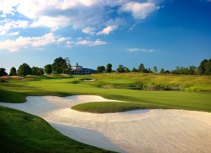 PGA Championship host Valhalla has hammered plenty of home runs in its brief history, from Tiger's clutch victory over Bob May in 2000 to Team USA's rousing Ryder Cup takedown. Behold, some of the venue's major moments.