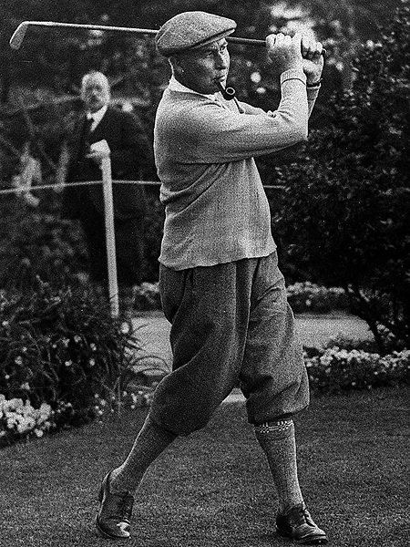 The Open Championship is the oldest of golf's majors and has been won by nearly all of the game's best players. Before World War I, Old Tom Morris, Young Tom Morris, Harry Vardon (left), James Braid and J.H. Taylor dominated the event. Since then, the following 11 players have earned the title Champion Golfer at least three times each.