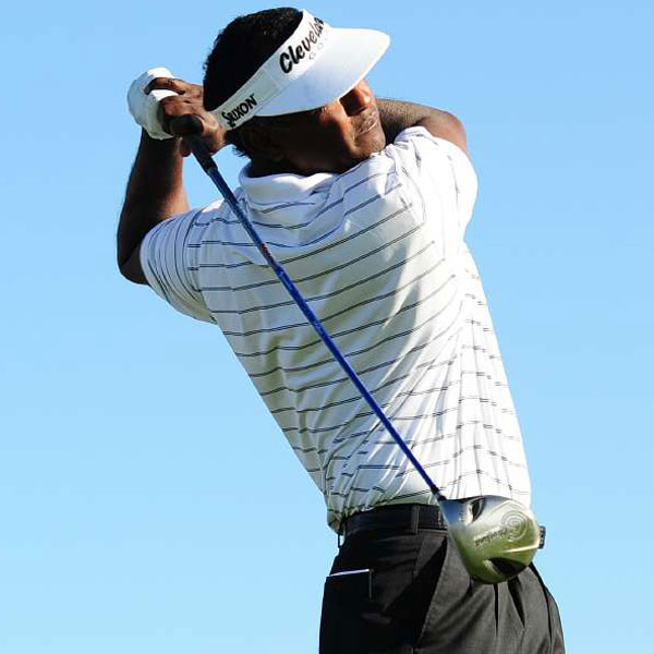 Vijay Singh                       Masters Champion: 2000                       Driver: Cleveland Launcher Ultralite SL 290 (7.5°) with a Fujikura Motore VC 7.1 shaft