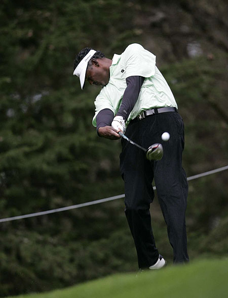 Vijay Singh (Fiji)                       World ranking: 6                       Ball: Srixon Z-Star X