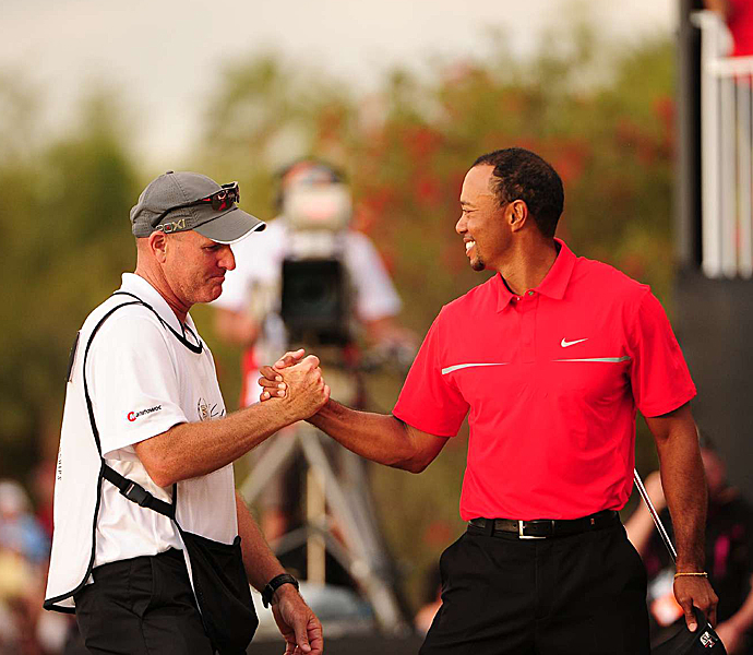 Tiger Woods won the 2013 WGC-Cadillac Championship, his 17th World Golf Championship title.