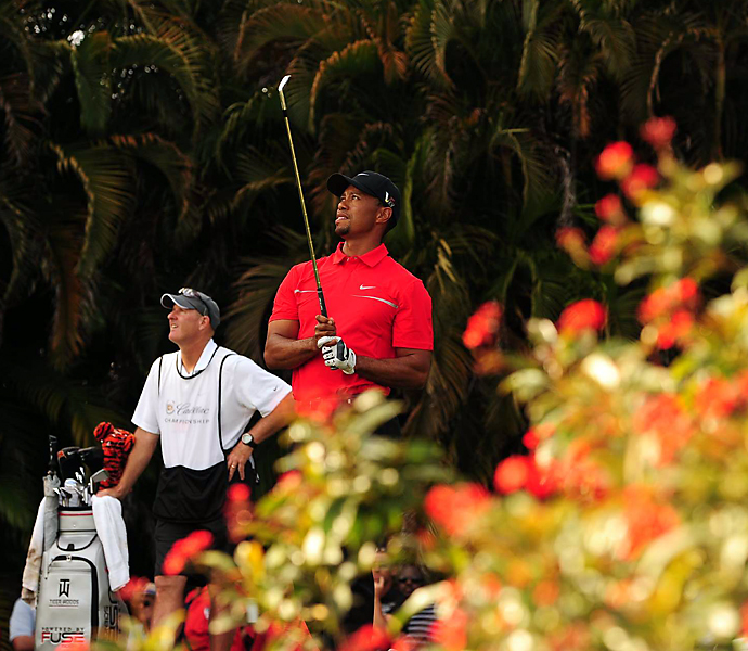 With a four-day total of 19-under-par, Woods beat Steve Stricker by two shots to take home the $1.5 million first prize.