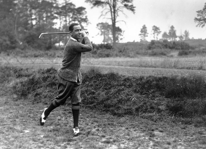 "Walter Hagen                             The legendary Hagen essentially invented the role of a touring professional golfer. ""In consummate skill and high living, no one could match the flamboyant Walter Hagen, who changed the rich-man image of golf while courting the company of princes,"" wrote Sports Illustrated's Ron Fimrite. Top 100 Teachers agreed, voting Hagen, who won 11 major titles, one of the game's greatest scramblers."