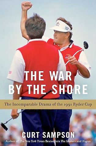 War by the Shore: The Incomparable Drama of the 1991 Ryder Cup                           $28, amazon.com                           The story of the '91 Ryder Cup at Kiawah Island, one of the most tense, heated and emotional contests in the history of the game.