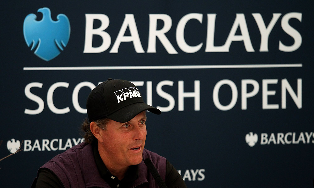 Barclays                       British bank Barclays is also a big sponsor. He wears the bank's logo on his shirt, appears in commercials and plays in Barclay-sponsored tournaments around the globe.