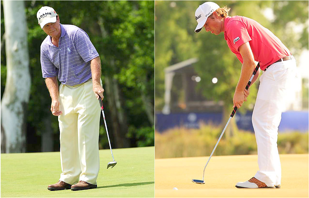 Purists vs. the New Age                       The establishment hates long putters. The new age embraces them. While many pros, including Tom Watson, have said the belly putter should be banned from competition, Webb Simpson and Keegan Bradley had breakout seasons while wielding a long stick.