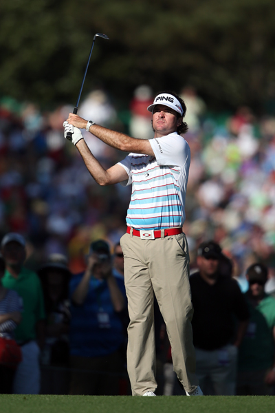 BEST: BUBBA WATSON                       Watson's Thursday-Sunday apparel from Oakley isn't especially colorful, so it was nice to see a combination of bright blue and white on the 2012 Masters champion on Wednesday. The red belt ties in with the red stripes on his polo and is an especially nice touch.