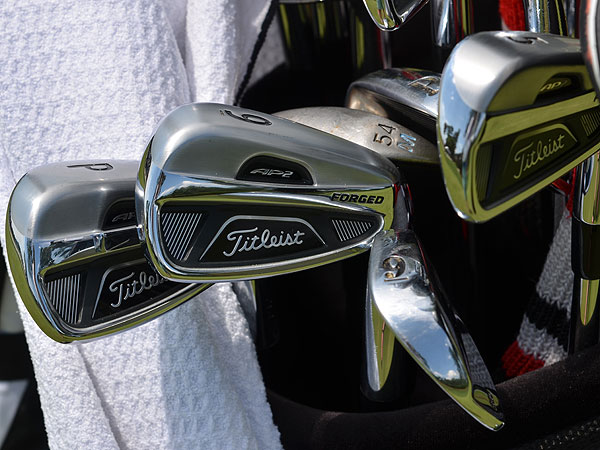 Webb Simpson is planning to put Titleist's new 712 AP2  irons into play for the first time this week.