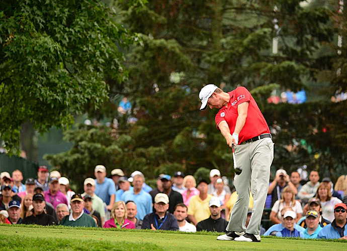 Webb Simpson shot an incredible 64 on Friday.