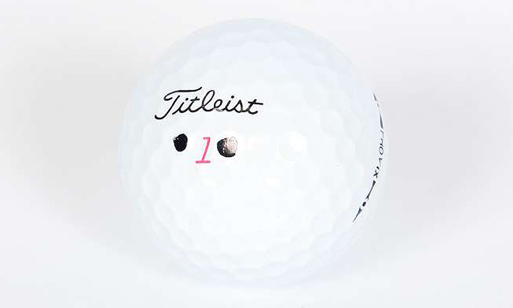 Westwood's golf ball of choice is the Titleist Pro V1x.